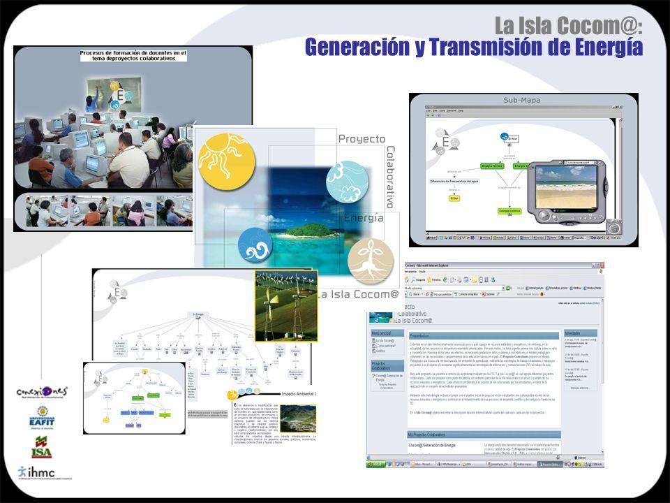 La Isla Cocom@: Generación y Transmisión de Energía