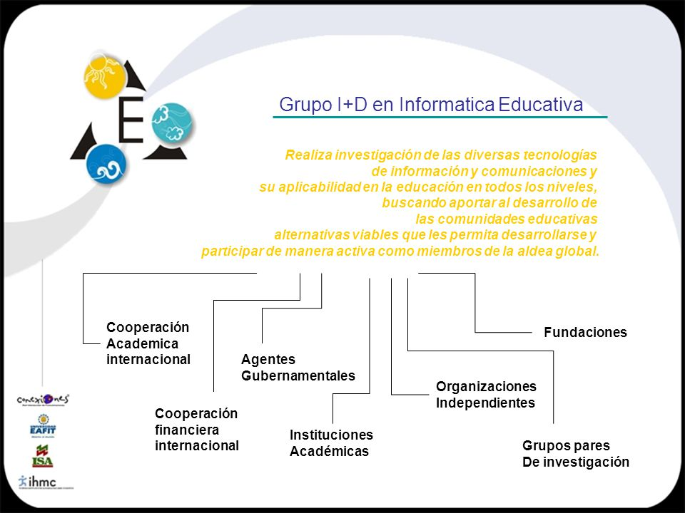 Grupo I+D en Informatica Educativa