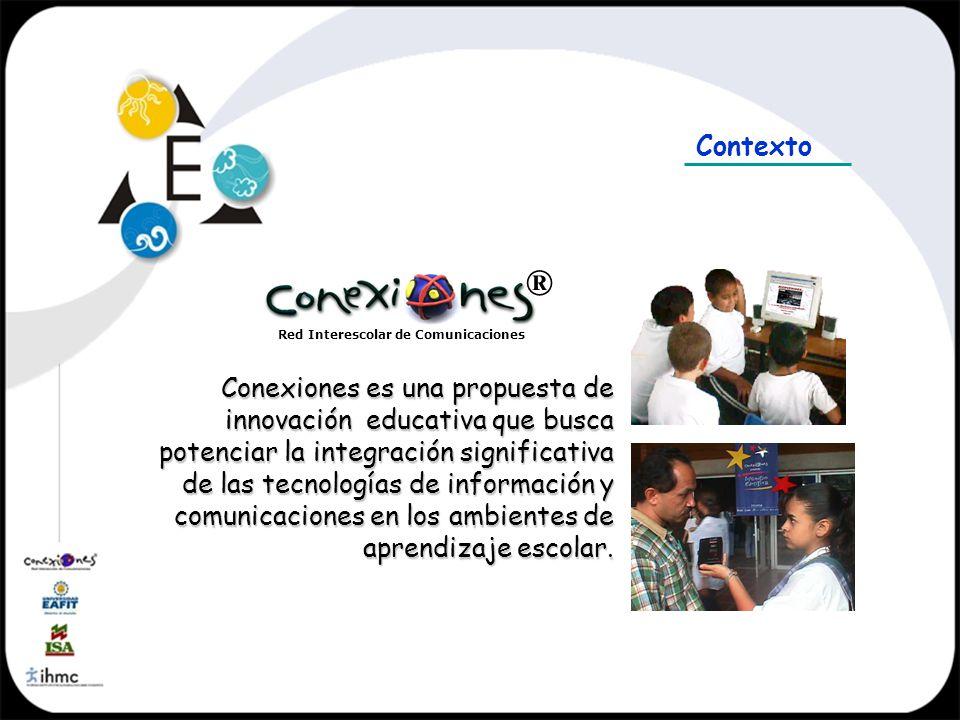 Contexto ® Red Interescolar de Comunicaciones.