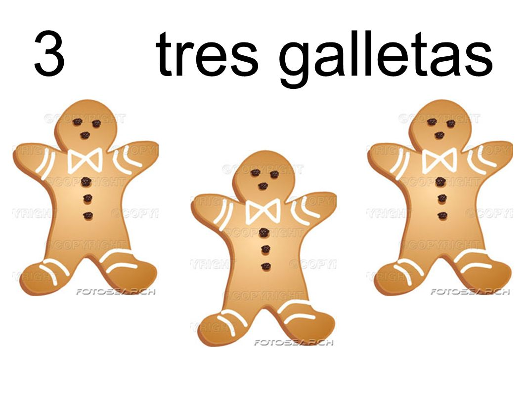 3 tres galletas