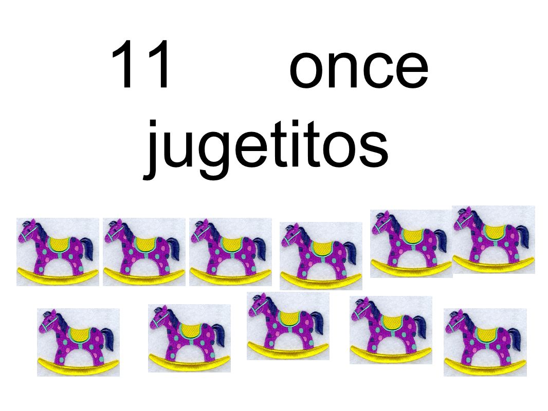 11 once jugetitos
