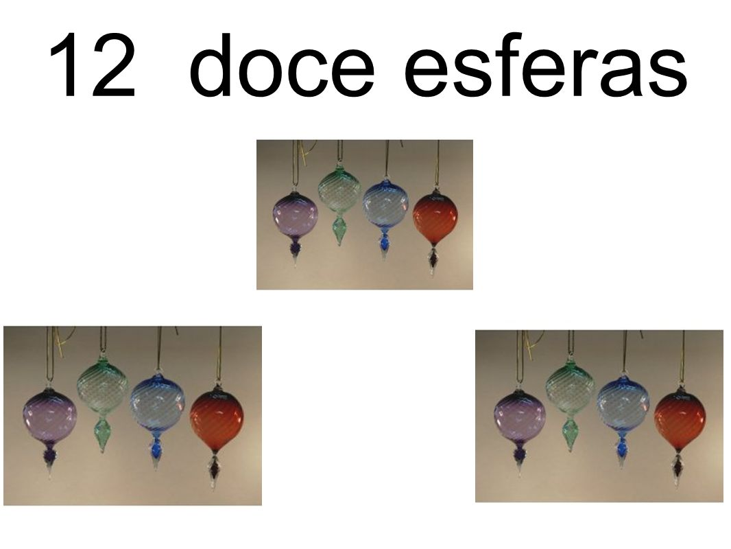 12 doce esferas