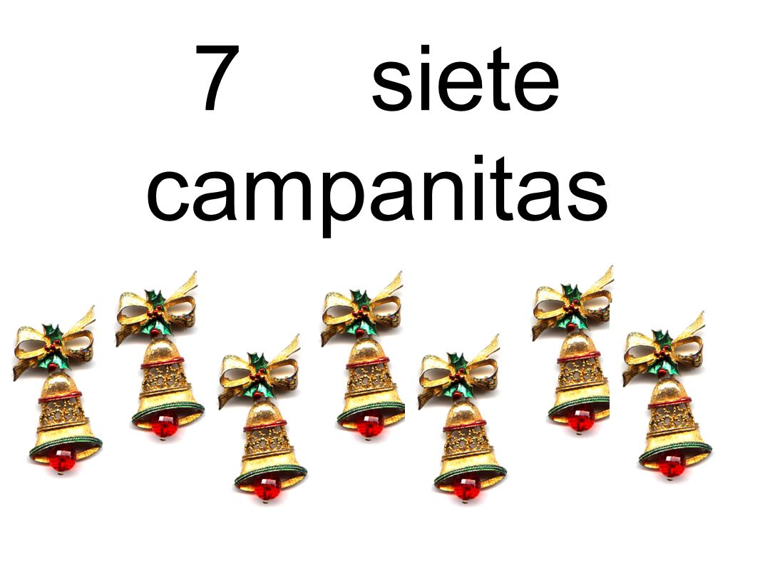 7 siete campanitas