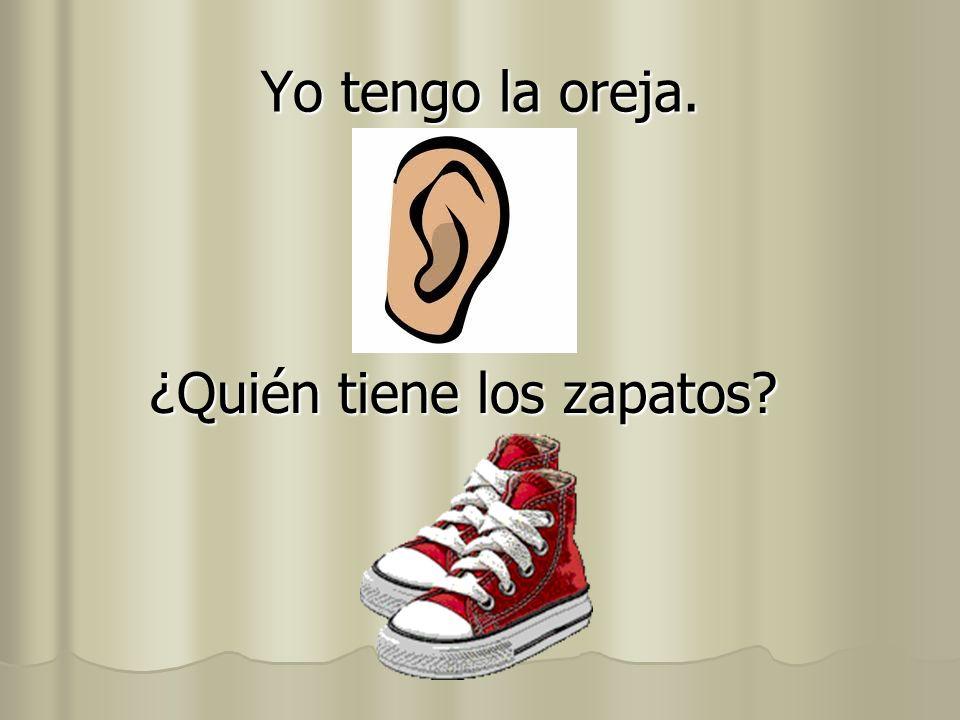 ¿Quién tiene los zapatos