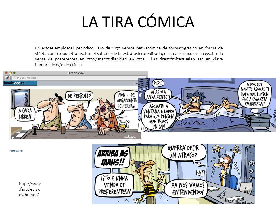 LA TIRA CÓMICA