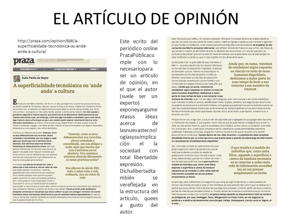 EL ARTÍCULO DE OPINIÓNhttp://praza.com/opinion/608/a-superficialidade-tecnoloxica-ou-ande-anda-a-cultura/