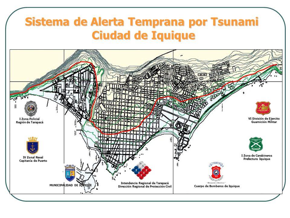 Sistema de Alerta Temprana por Tsunami Ciudad de Iquique