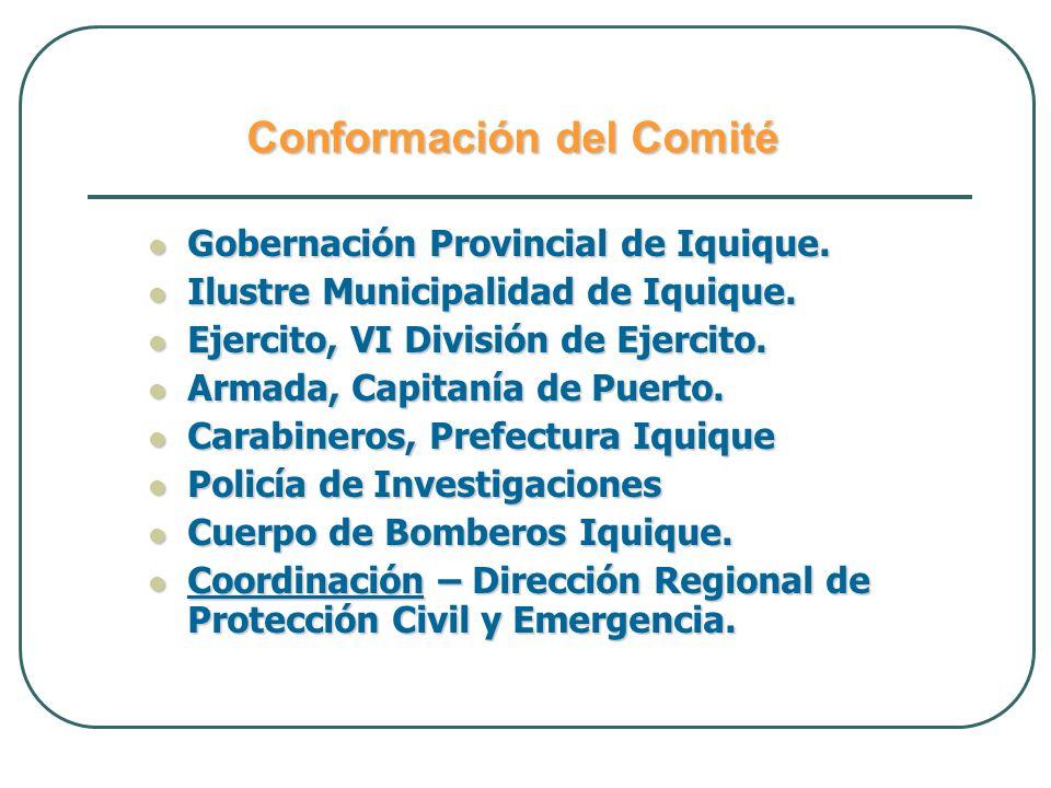 Conformación del Comité