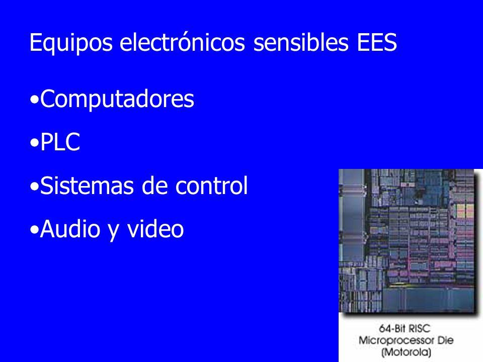 Equipos electrónicos sensibles EES