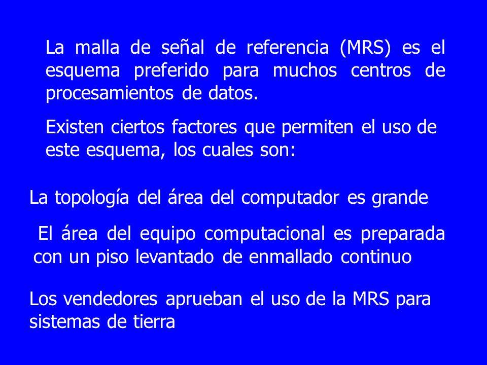 La malla de señal de referencia (MRS) es el esquema preferido para muchos centros de procesamientos de datos.