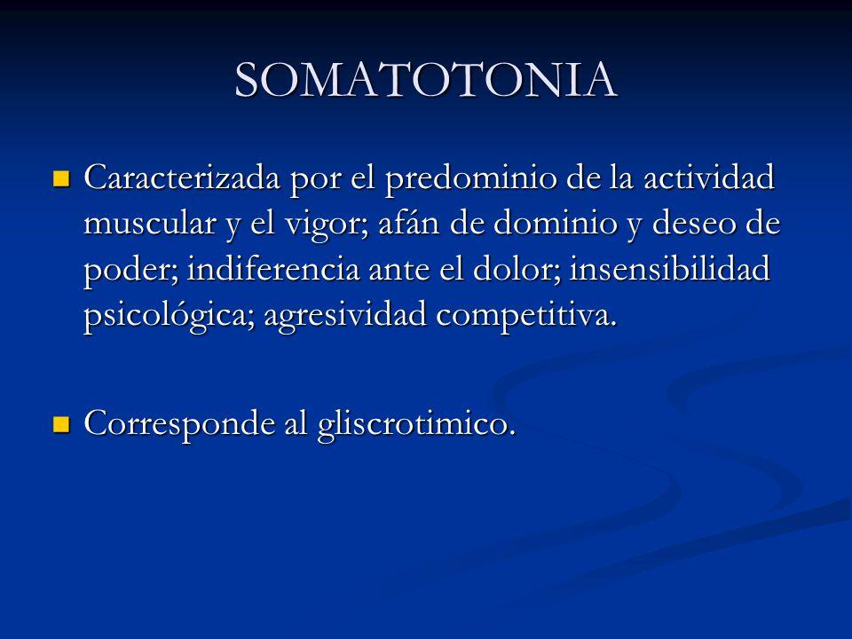 SOMATOTONIA
