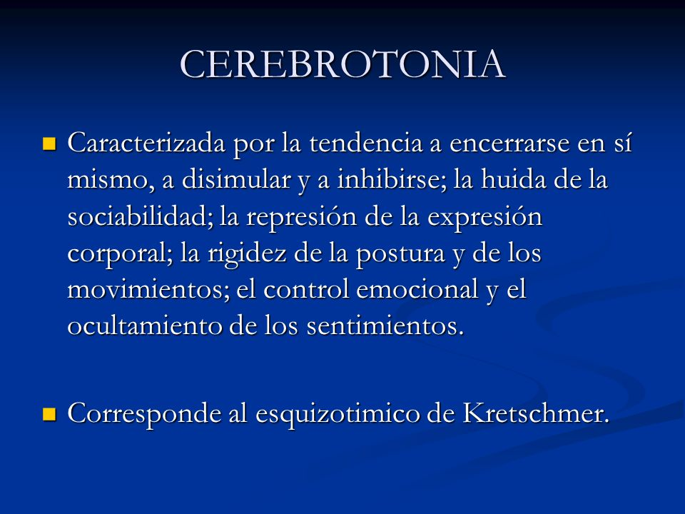 CEREBROTONIA