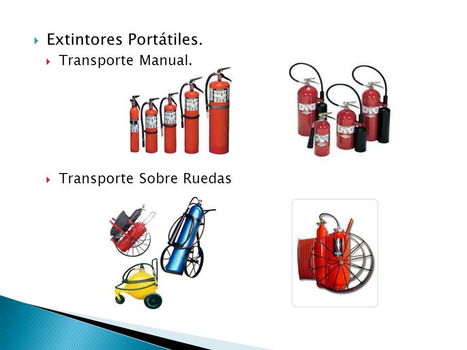 Extintores Portátiles.