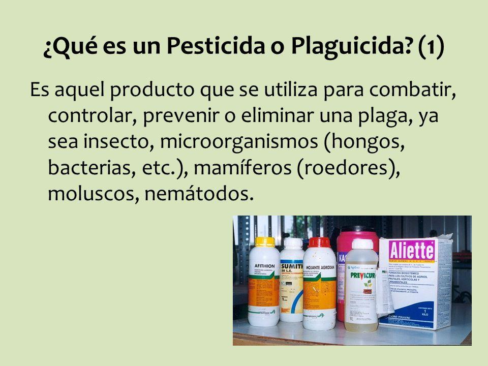 ¿Qué es un Pesticida o Plaguicida (1)