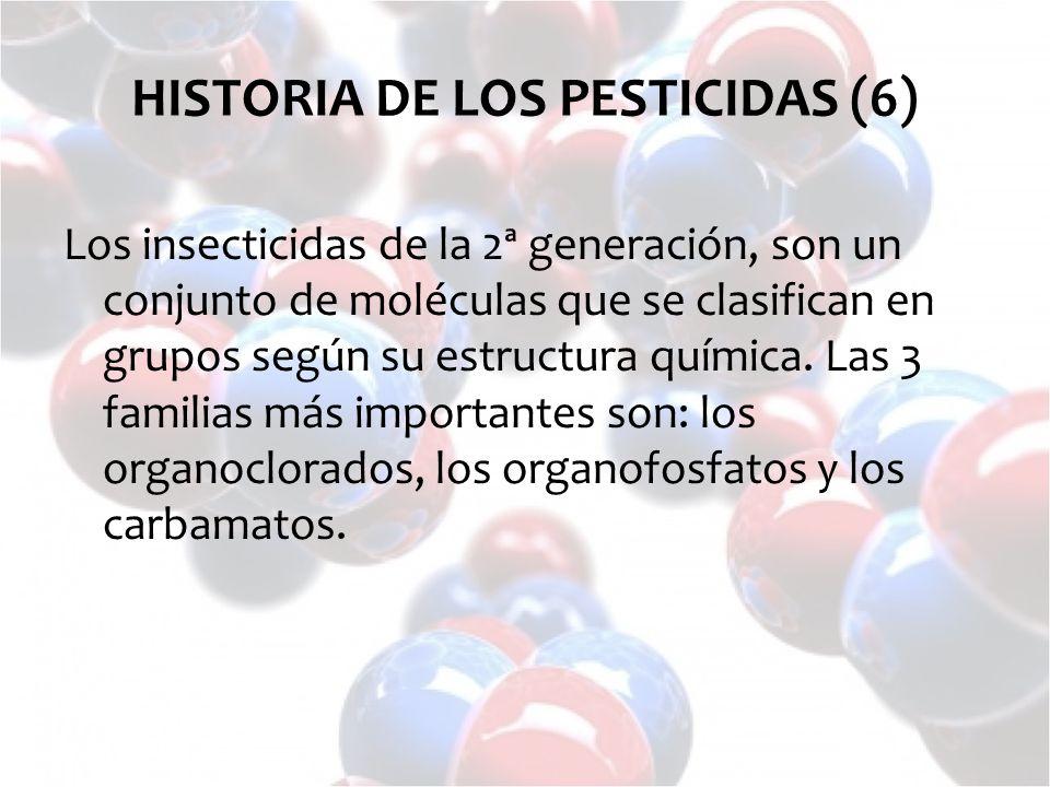 HISTORIA DE LOS PESTICIDAS (6)