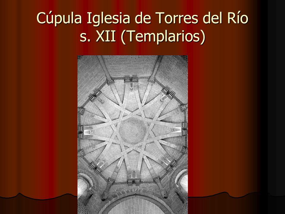 Cúpula Iglesia de Torres del Río s. XII (Templarios)