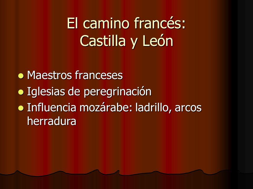 El camino francés: Castilla y León