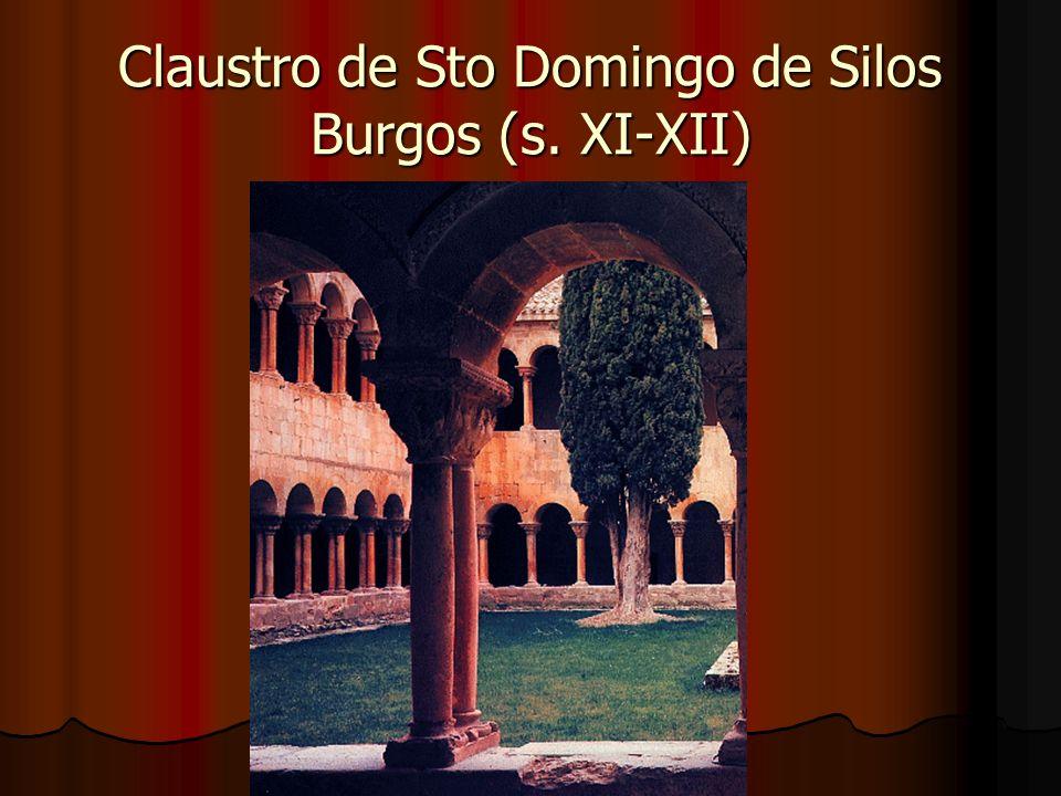 Claustro de Sto Domingo de Silos Burgos (s. XI-XII)