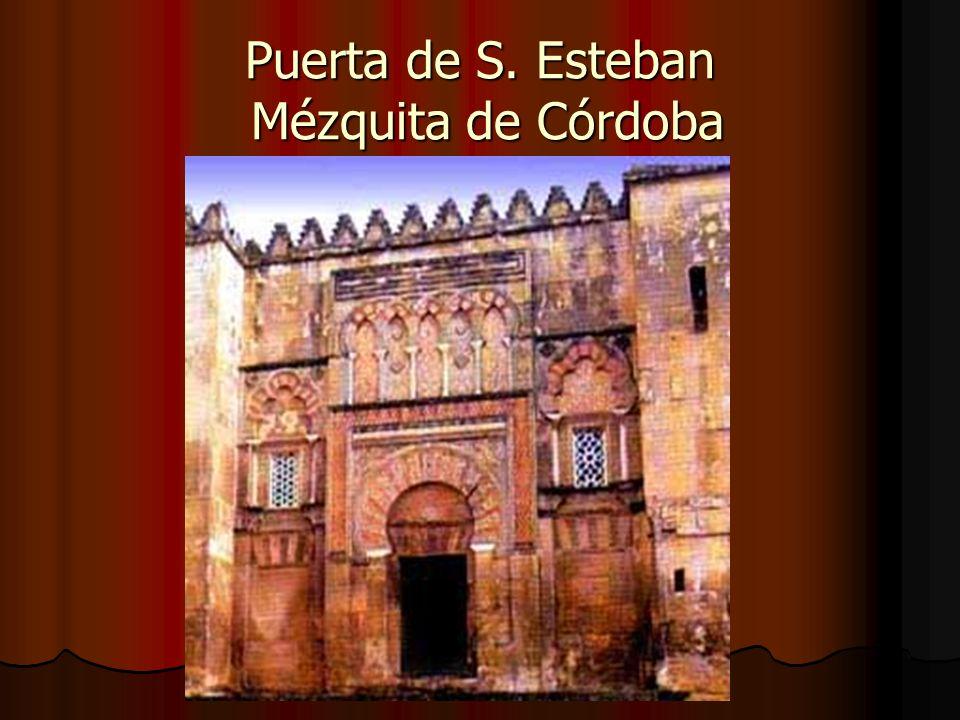 Puerta de S. Esteban Mézquita de Córdoba