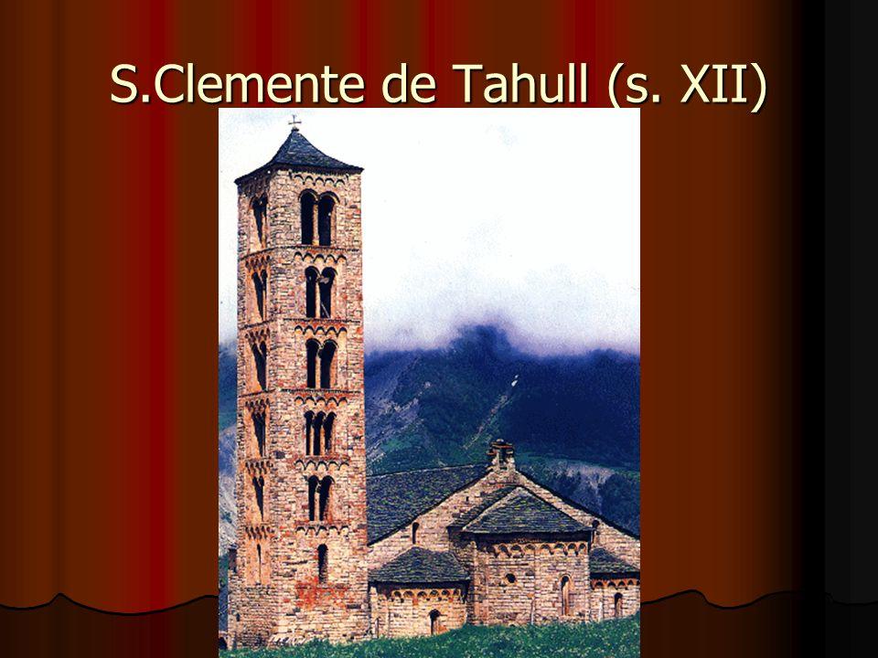S.Clemente de Tahull (s. XII)