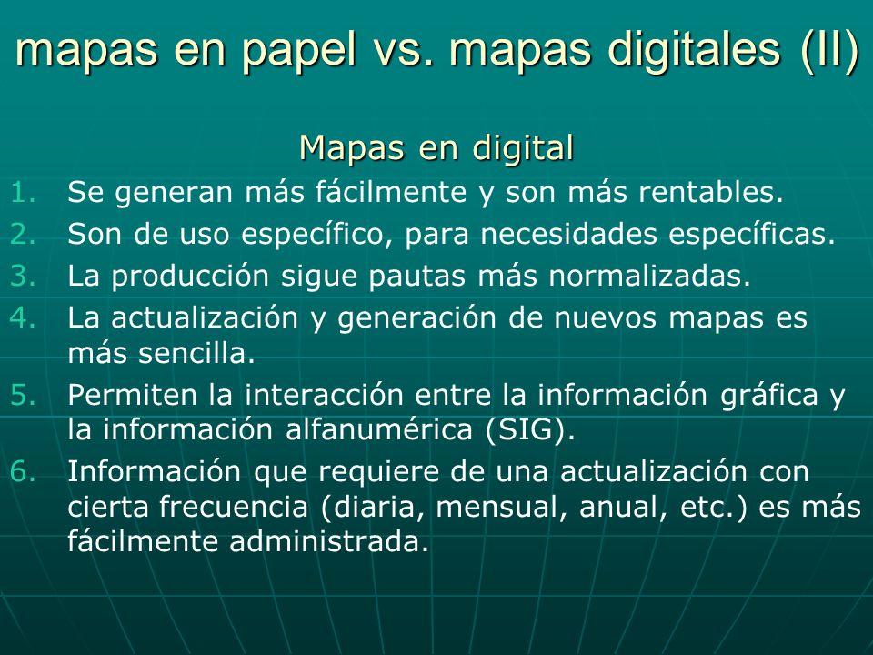 mapas en papel vs. mapas digitales (II)