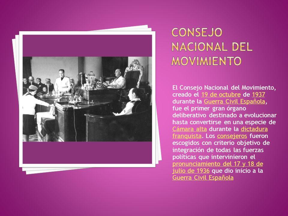 Consejo Nacional del Movimiento