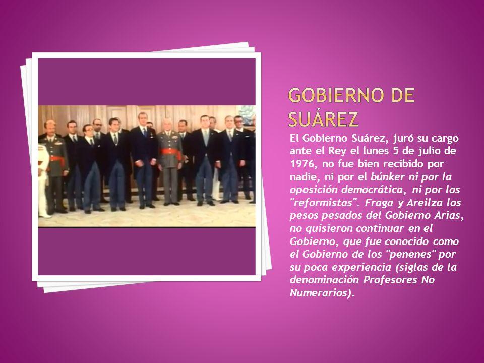 Gobierno de Suárez