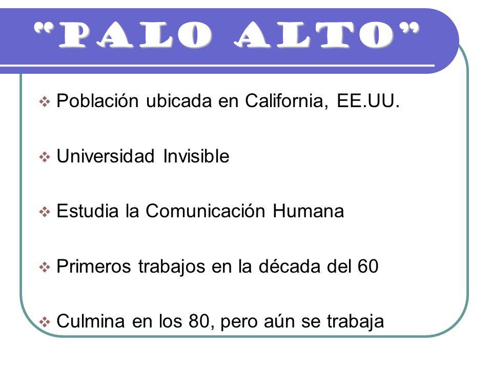 PALO ALTO Población ubicada en California, EE.UU.