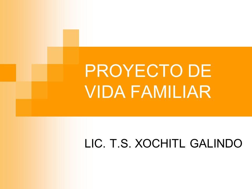 PROYECTO DE VIDA FAMILIAR