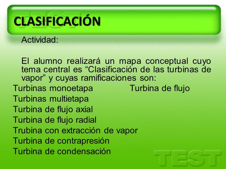 CLASIFICACIÓN Actividad: