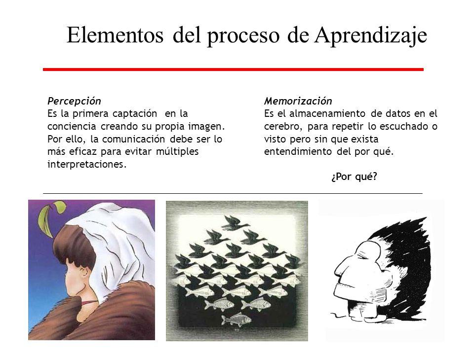 Elementos del proceso de Aprendizaje
