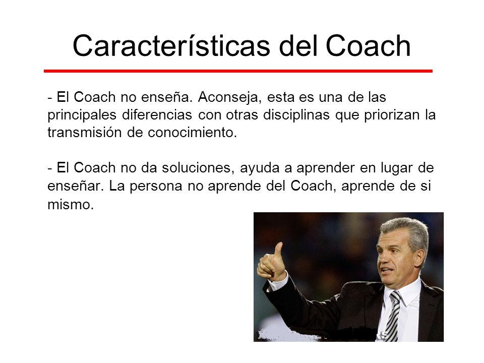 Características del Coach