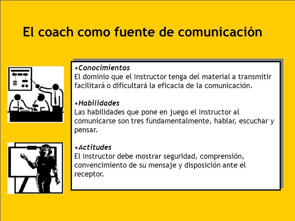 El coach como fuente de comunicación
