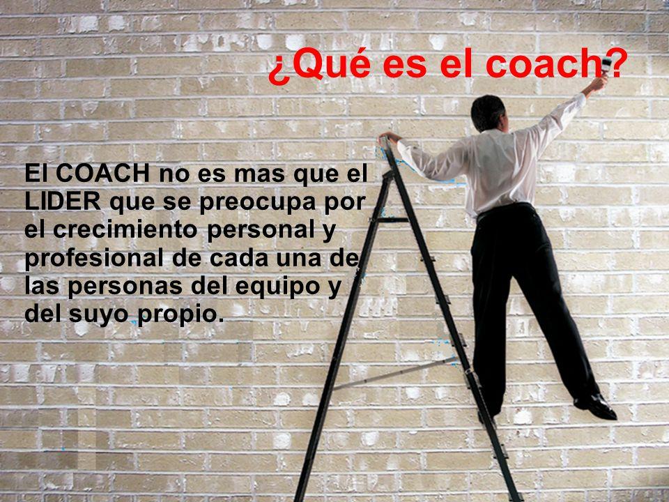 ¿Qué es el coach