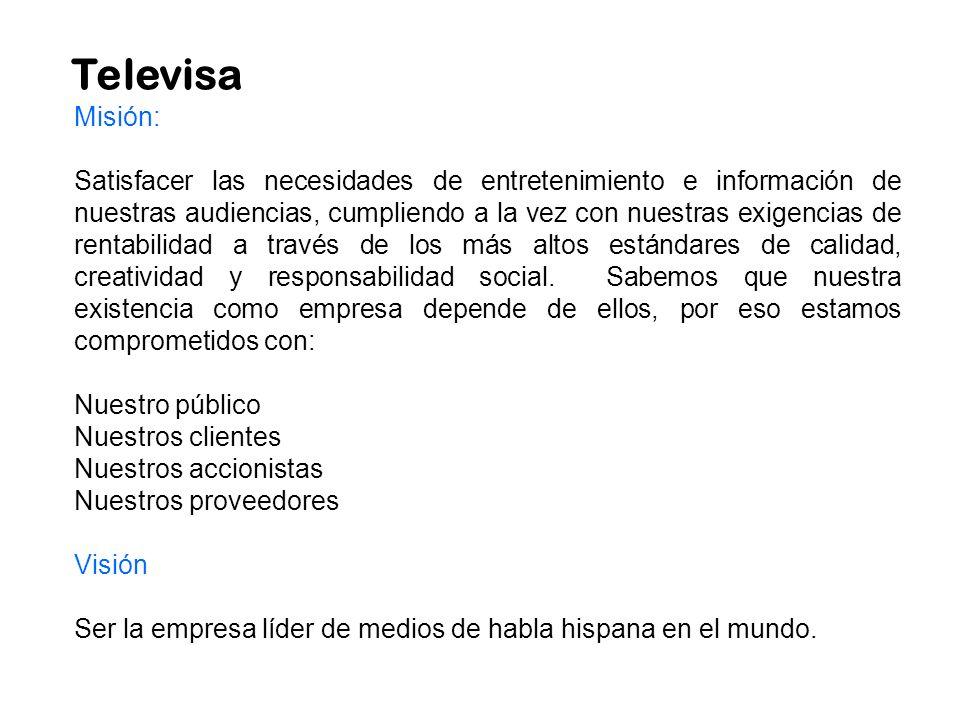 Televisa Misión: