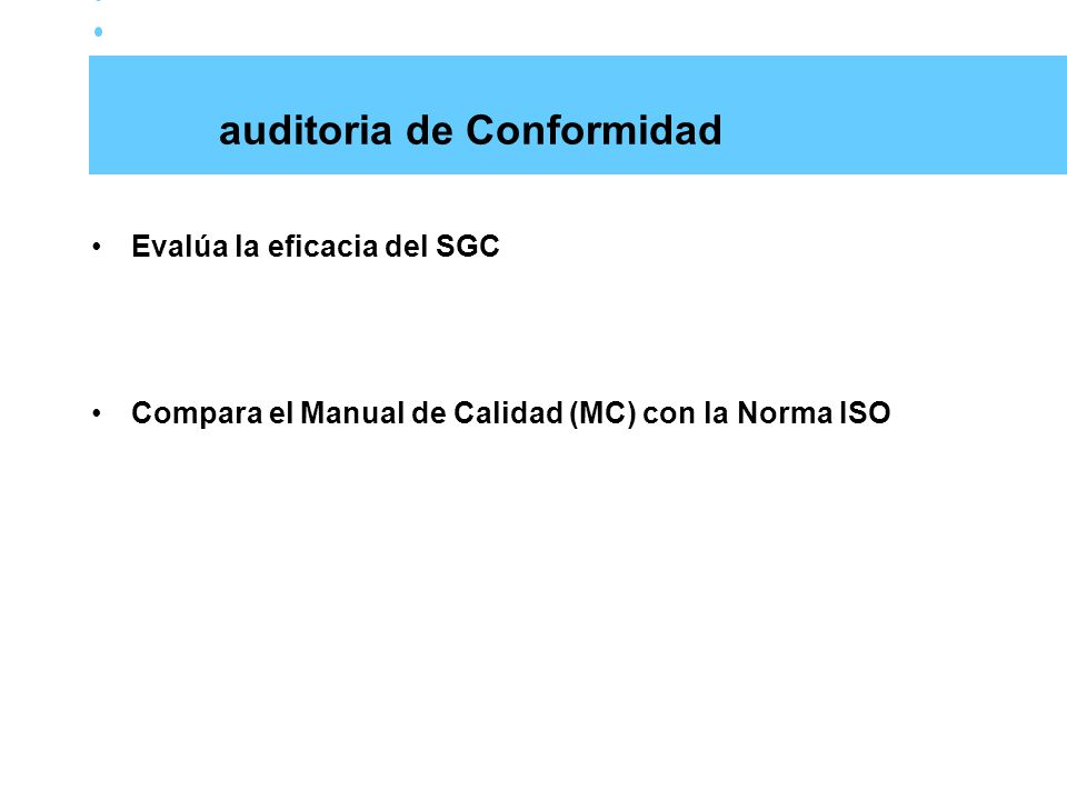 auditoria de Conformidad