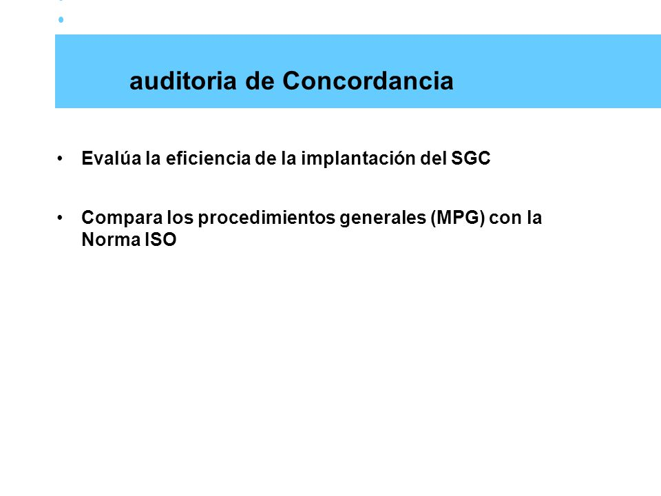 auditoria de Concordancia