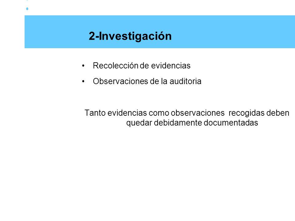 2-Investigación Recolección de evidencias