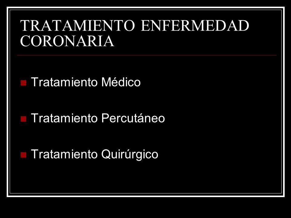 TRATAMIENTO ENFERMEDAD CORONARIA