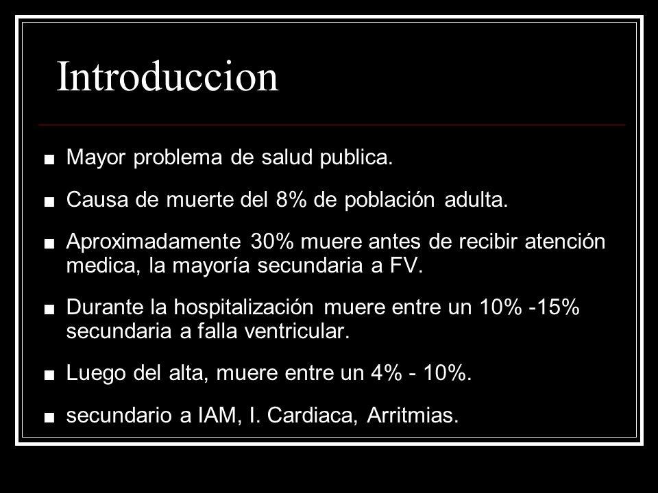 Introduccion Mayor problema de salud publica.