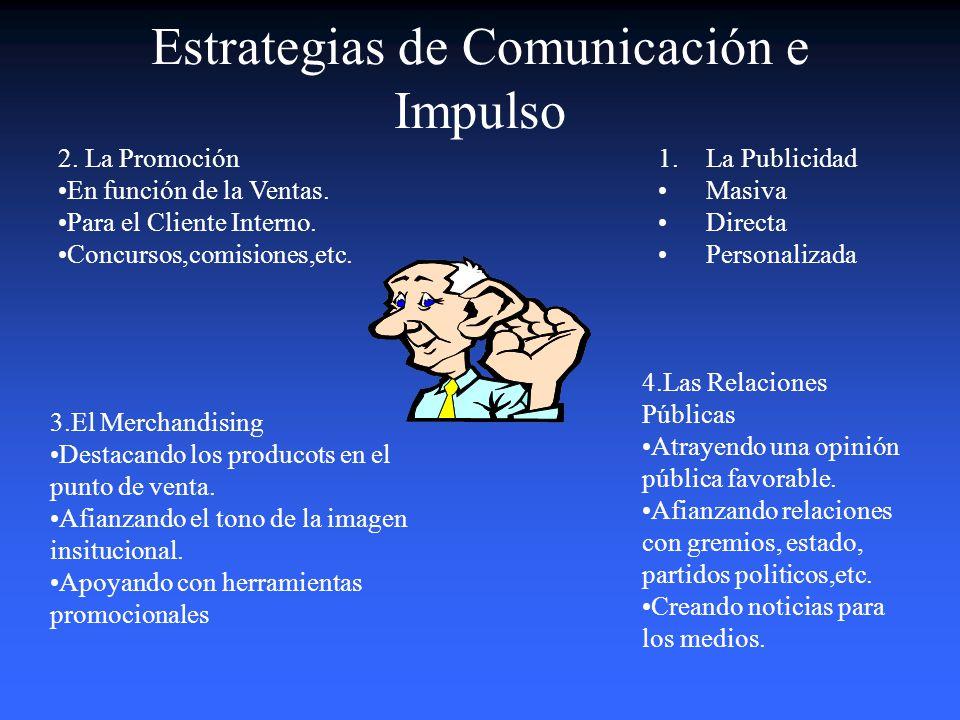 Estrategias de Comunicación e Impulso