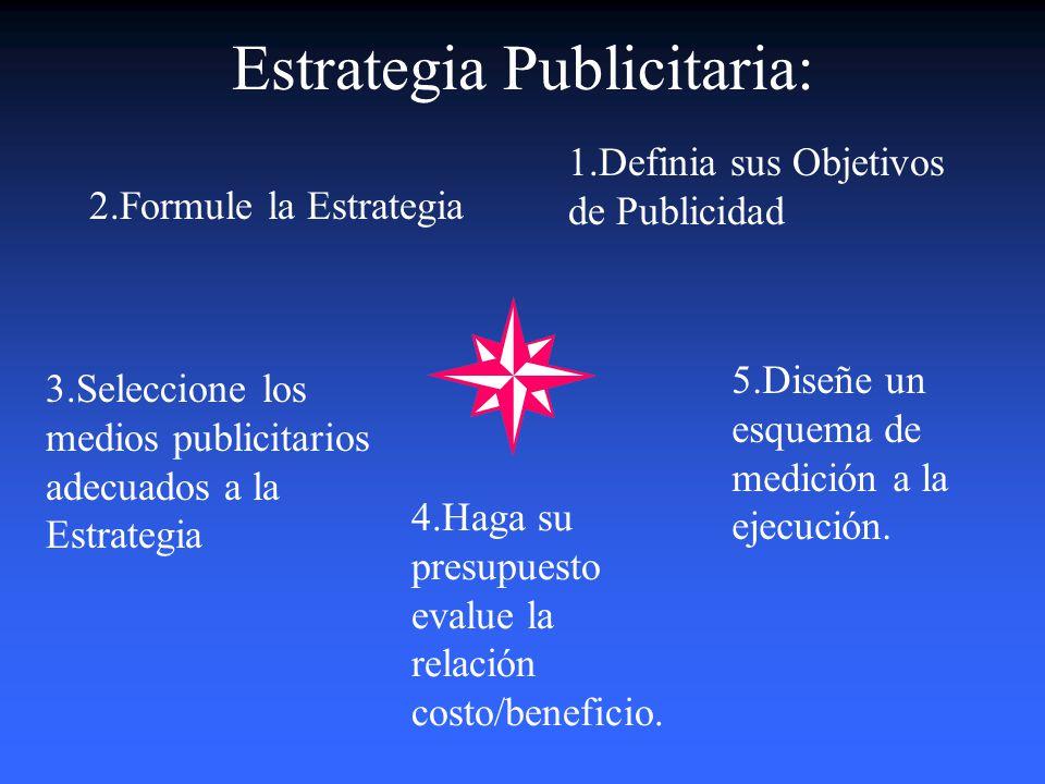 Estrategia Publicitaria: