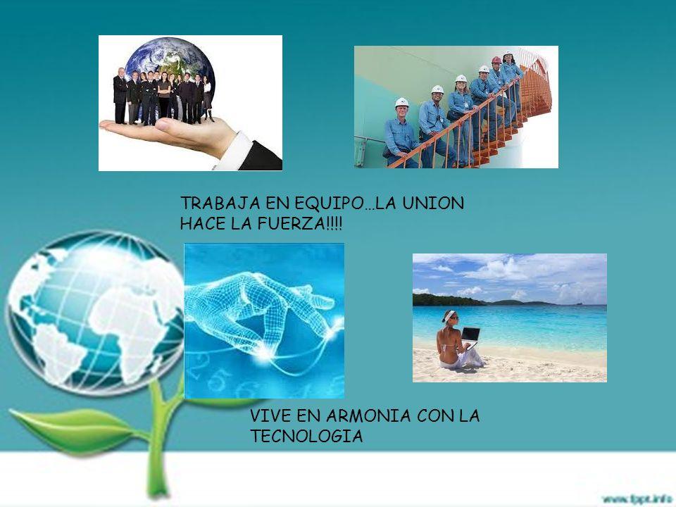 TRABAJA EN EQUIPO…LA UNION HACE LA FUERZA!!!!