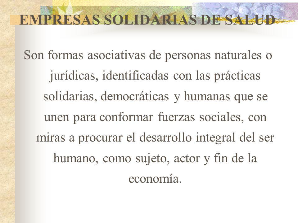 EMPRESAS SOLIDARIAS DE SALUD