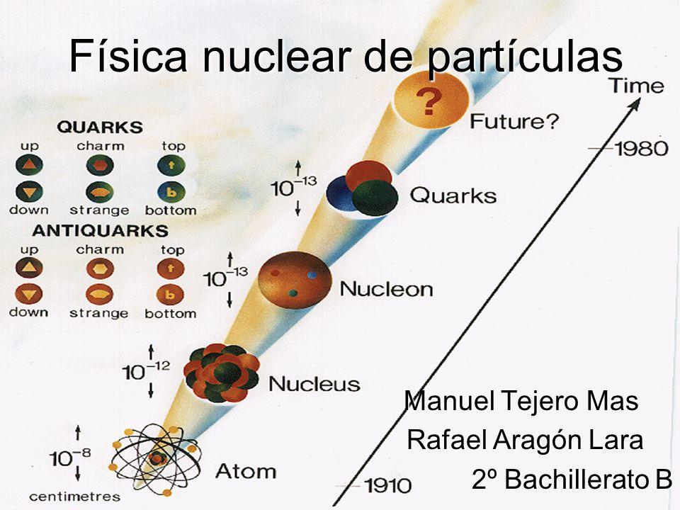 Física nuclear de partículas