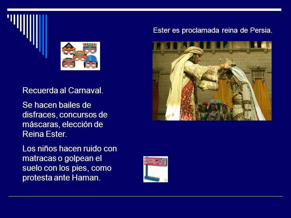 Ester es proclamada reina de Persia.