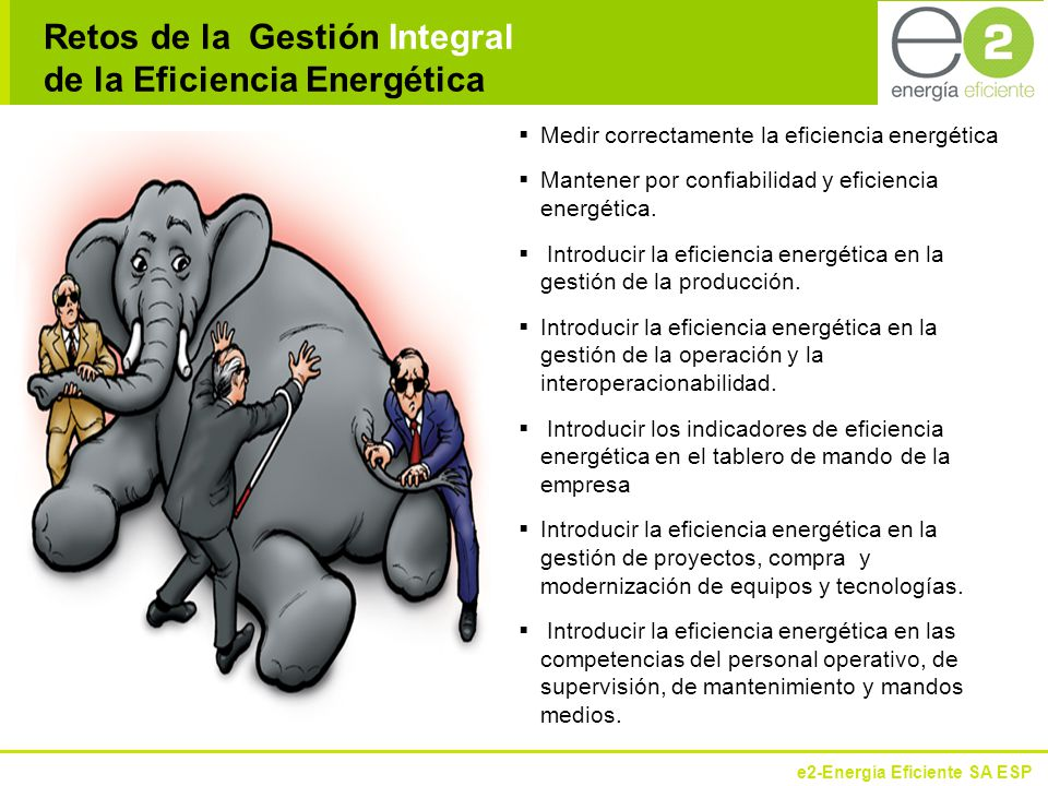 Retos de la Gestión Integral de la Eficiencia Energética
