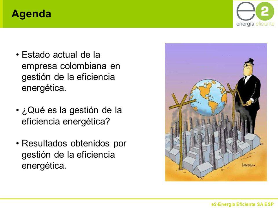 Agenda Estado actual de la empresa colombiana en gestión de la eficiencia energética. ¿Qué es la gestión de la eficiencia energética