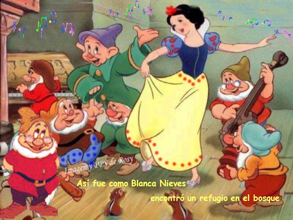 Así fue como Blanca Nieves