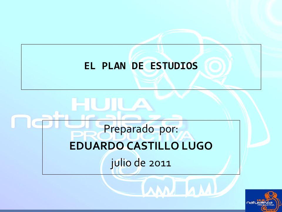 Preparado por: EDUARDO CASTILLO LUGO julio de 2011